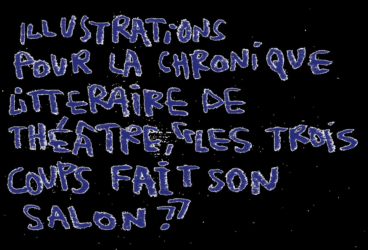vincentcrog.com Les Trois Coups fait son salon